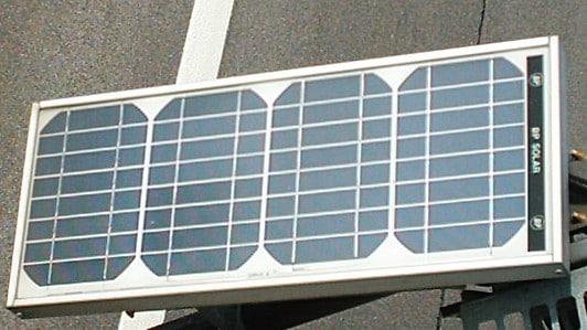 Solfanger med et solcelle anlæg - spar på energien